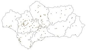 puntos limpios Andalucía