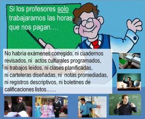 La labor del profesorado