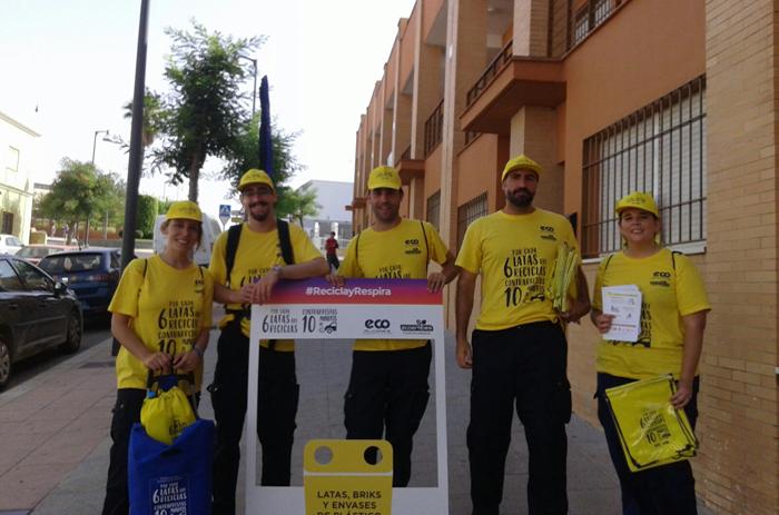 """Final de la Campaña """"Respira y recicla"""" en la Mancomunidad de los Alcores"""