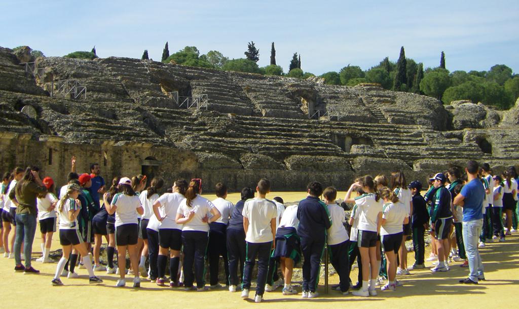 Excursión por las ruinas romanas de Itálica