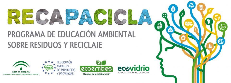 Programa RECAPACICLA, Gestión de residuos y educación ambiental