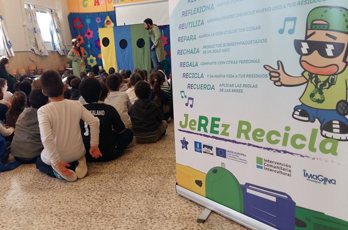 """Campaña de Educación Ambiental """"JeREz Recicla"""""""