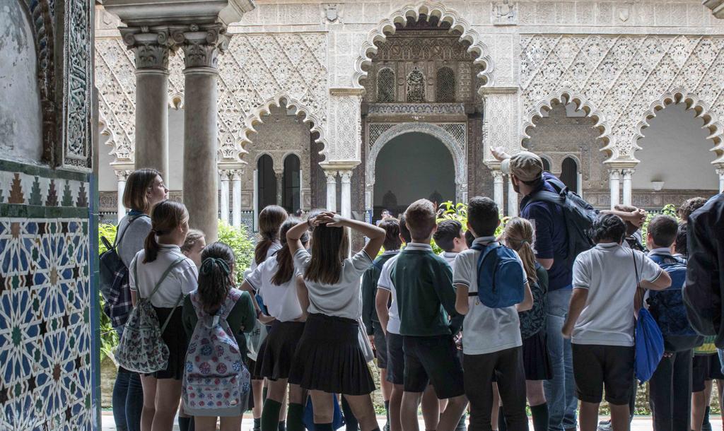 Excursión al Alcázar de Sevilla