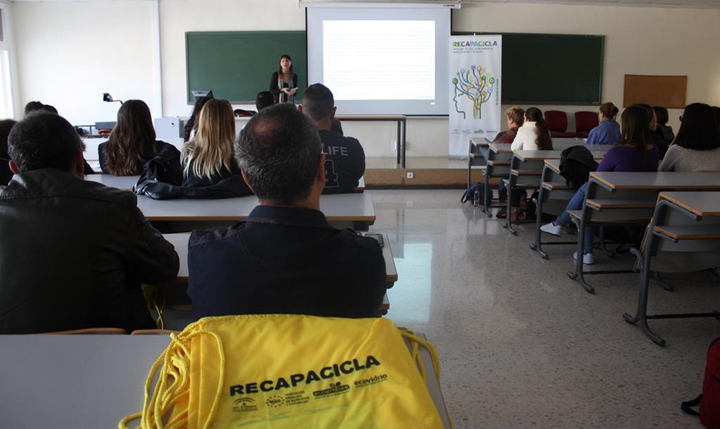 Resumen curso RECAPACICLA Universidad de Málaga 2017-18