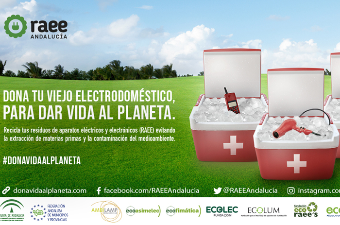 Campaña Dona Vida al Planeta de RAEE Andalucía
