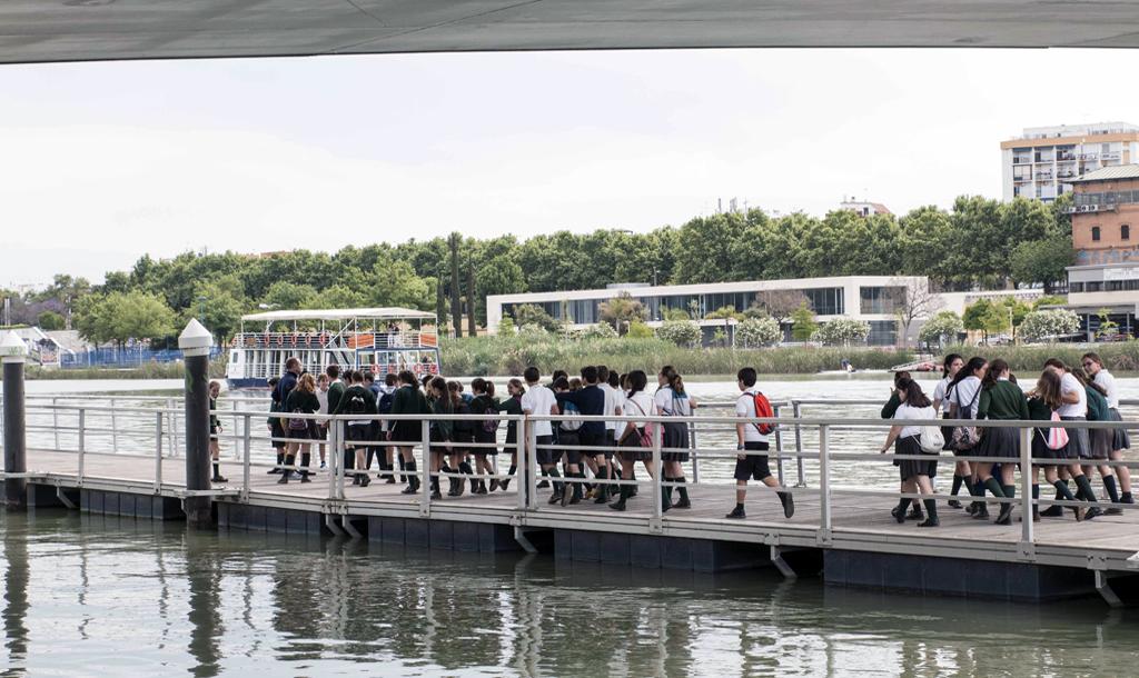Excursión por el río Guadalquivir