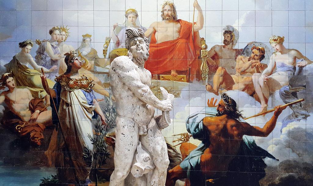 Gymkhana de los dioses en Itálica
