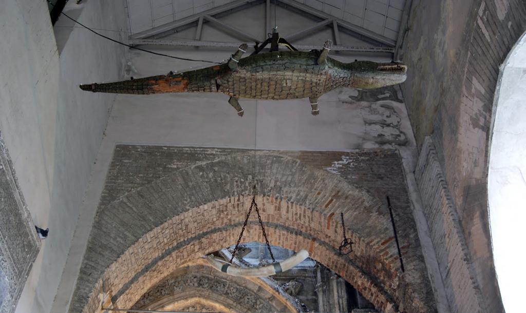 La leyenda del Lagarto de la Catedral de Sevilla