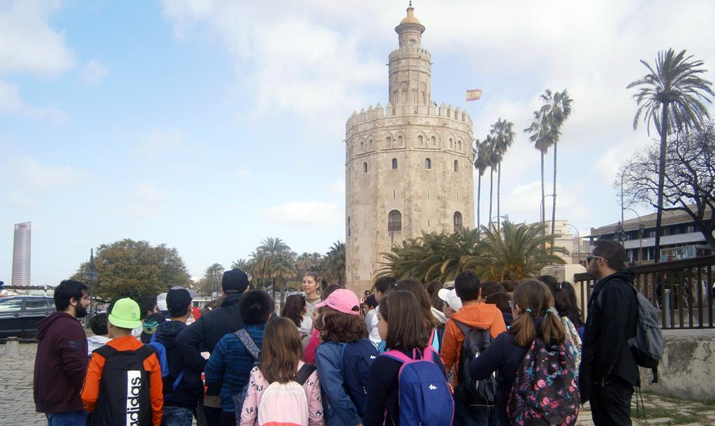 Visita a la Torre del Oro y viaje en barco por el Guadalquivir
