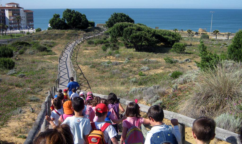 Excursión escolar por Doñana