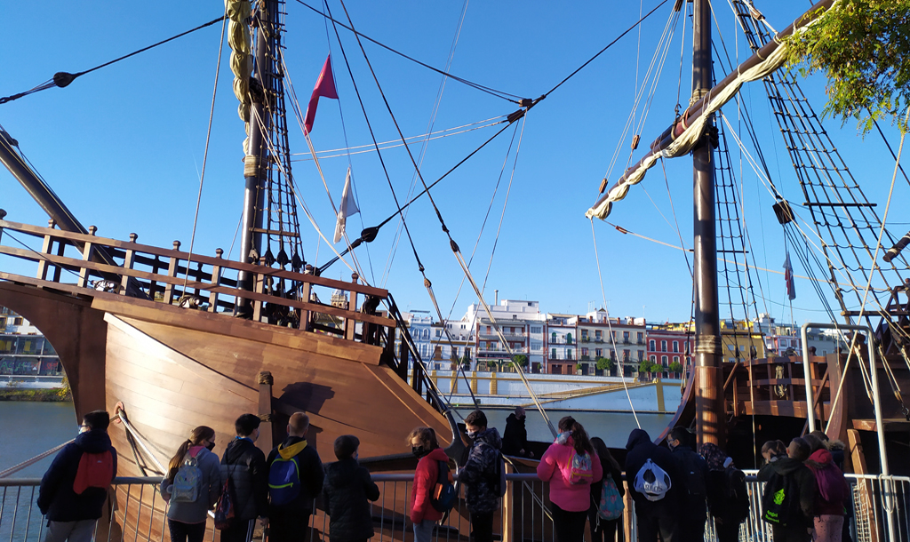 Excursión por la Sevilla de Magallanes y Elcano